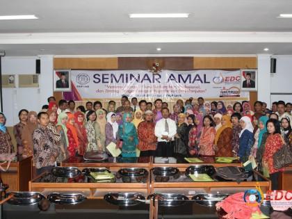 Seminar Amal EDC Diikuti Ratusan Guru