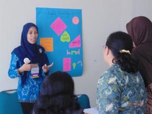 Suasana pembelajaran diklat di kelas