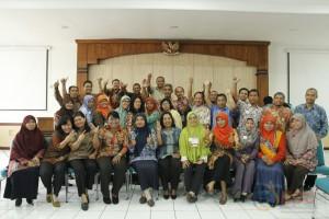 Foto bersama peserta diklat kepala laboratorium kelas A