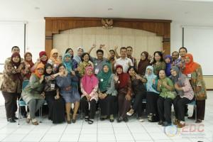 Foto bersama peserta diklat kepala perpustakaan kelas B
