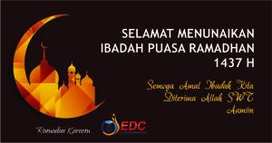 Selamat Ramadhan 1437H