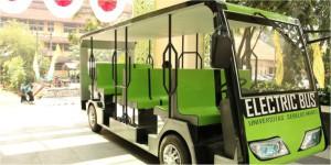 bus listrik kampus uns