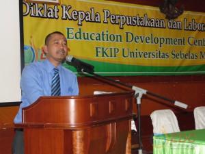 Sambutan Ketua EDC Dr. Muhammad Rohmadi, M.Hum